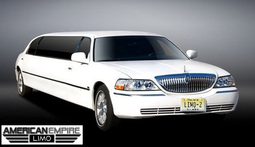 Lincoln Stretch Limousine 2009 White 10 passengers 1 Lincoln Town Car Stretch Limousine