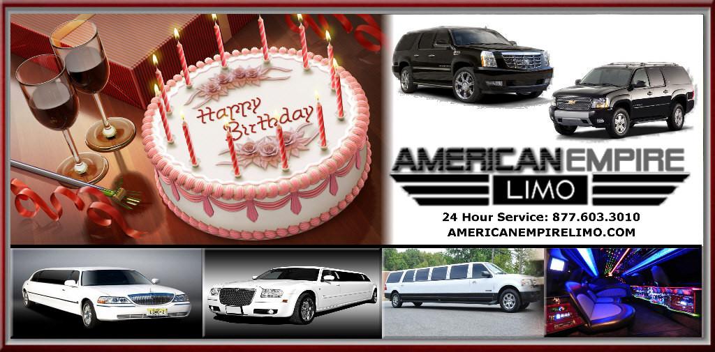 birthday limos service NJ LIMOS BIRTHDAY PARTY