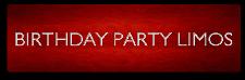 birthday party limos NJ LIMOS BIRTHDAY PARTY