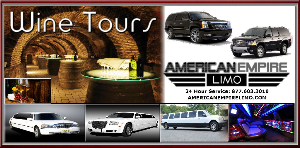 wine tour limousine service NJ LIMO WINE TOUR
